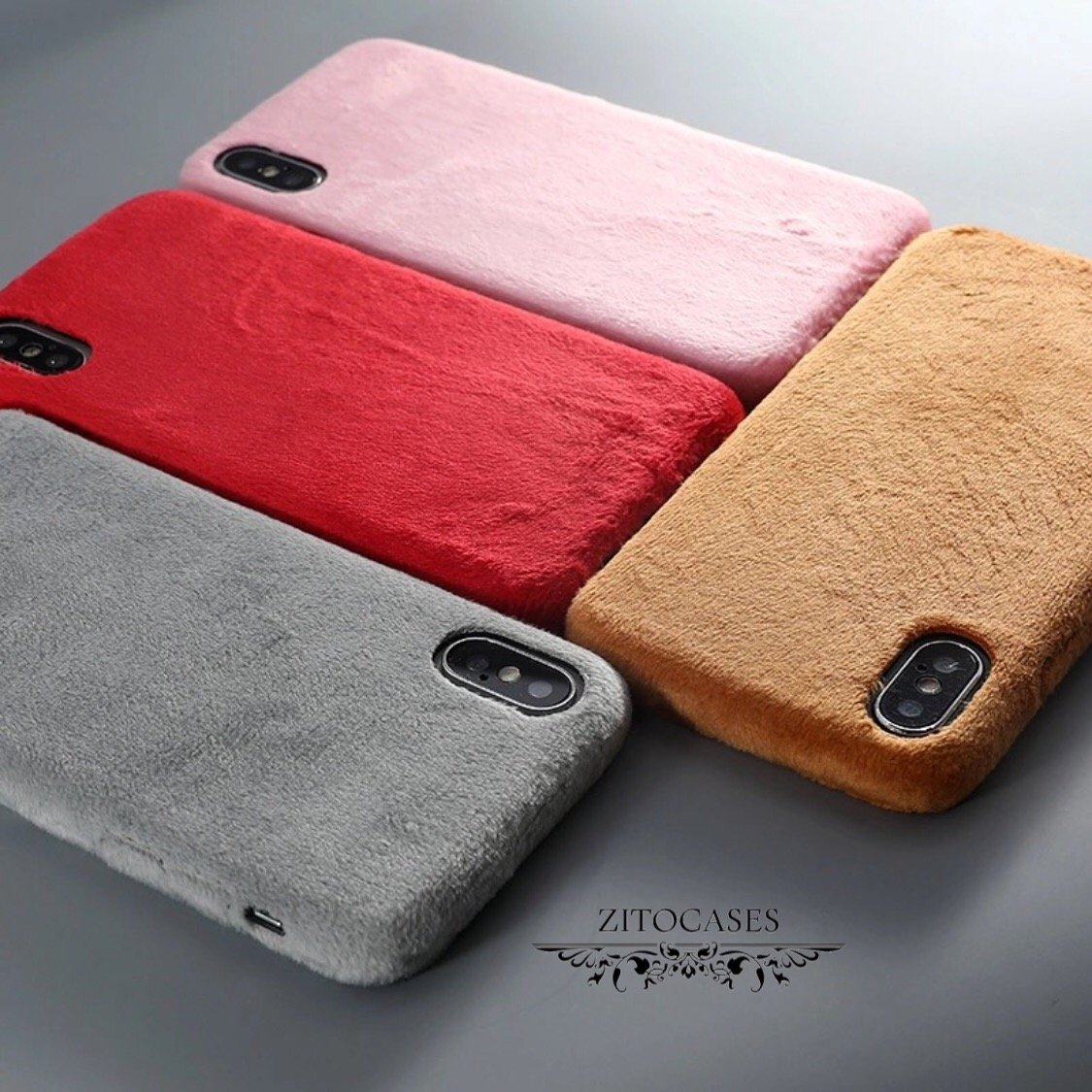 Weiche Kunstfell Winter Hülle/Case verschiedene Farben für IPhone 11, 11 Pro, 11 Pro Max, IPhone X, XS, XS Max, XR, IPhone 8, IPhone 8 Plus, IPhone 7, IPhone 7 Plus, IPhone 6&6s, IPhone 6,6s Plus