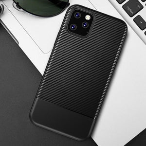 Carbon Optik Hülle/Case für IPhone 11, 11 Pro, 11 Pro Max, IPhone X, XS, XS Max, XR, IPhone 8, IPhone 8 Plus, IPhone 7, IPhone 7 Plus, IPhone 6&6s, IPhone 6,6s Plus