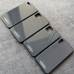 Carbon Panzerglas Hülle/Case für IPhone 11, 11 Pro, 11 Pro Max, IPhone X, XS, XS Max, XR, IPhone 8, IPhone 8 Plus, IPhone 7, IPhone 7 Plus, IPhone 6&6s, IPhone 6,6s Plus