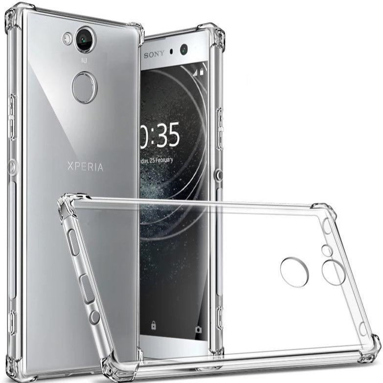 Transparente Airbag Silikon Hülle/Case für Sony Xperia 1II, 5 - ZITOCASES