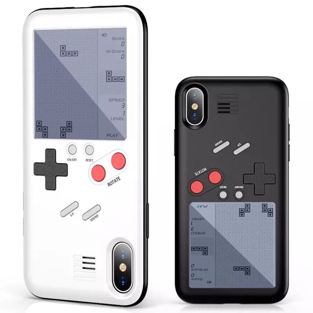 SPIELBARE Schutzhülle inklusive 26 Spiele im Retro Gameboy Look für IPhone 12, 12 Pro, 12 Pro Max, 12 Mini, SE, 11, 11 Pro, 11 Pro Max, IPhone X, IPhone XS, IPhone XS Max, IPhone XR, IPhone 7/8, IPhone 7/8 Plus, IPhone 6, IPhone 6 Plus - ZITOCASES