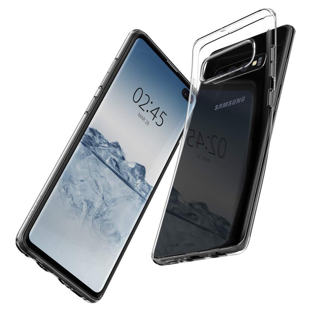 Transparente 0,8mm Soft Hülle/Case für Samsung Galaxy S10, S10 Plus, S10e