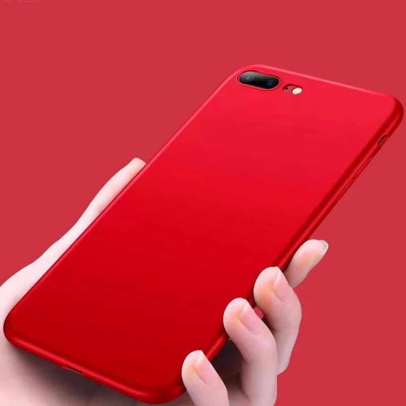 Super Dünne Soft Hülle/Case verschiedene Farben für IPhone 11, 11 Pro, 11 Pro Max, IPhone X, IPhone XS, IPhone XS Max, IPhone XR, IPhone 8, IPhone 8 Plus, IPhone 7, IPhone 7 Plus, IPhone 6&6s, IPhone 6, 6s Plus