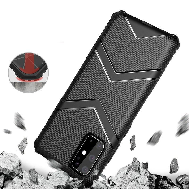 Silikon Airbag Hülle/Case für Samsung Galaxy S20, S20 Plus, S20 Ultra, S10, S10 Plus, S10e , Note 20, 20 Ultra, 10, 10 Plus - ZITOCASES