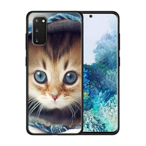 Katzen Motive Soft Hülle/Case für Samsung Galaxy S20, S20 Plus, S20 Ultra, S10, S10e, S10 Plus - ZITOCASES