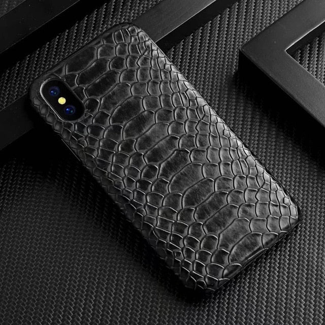 Schlangen-Leder Optik Hülle/Case verschiedene Farben für IPhone 11, 11 Pro, 11 Pro Max, IPhone X, XS, XS Max, XR, IPhone 8, IPhone 8 Plus, IPhone 7, IPhone 7 Plus, IPhone 6&6s, IPhone 6,6s Plus