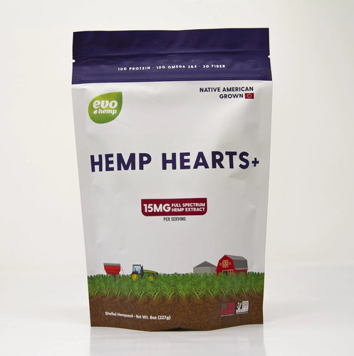 Evo Hemp Hearts Plus CBD