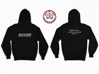 BLESSED image Printed on Men's & Women's Unisex Hoodie Style #1