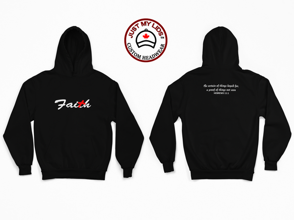 FAITH image Embroidered on Men's & Women's Unisex Hoodie
