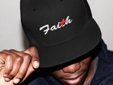 FAITH and Hebrews 11:1 Bible Verse Embroidered on Classic Snapback hat Style #1