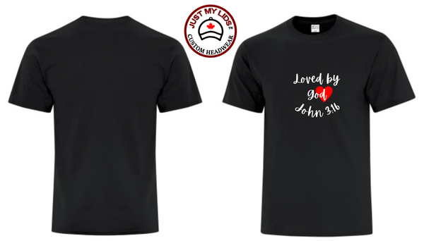 LOVED by GOD JOHN 3:16 - Unisex Tee Shirt