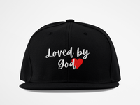 LOVED by GOD JOHN 3:16 - Classic Snapback Cap Style #2