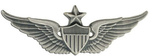 Aviator Senior Silver-Ox Regular Size Army Badge | Sold Individually