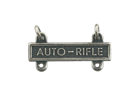 Automatic Rifle Silver-Ox Army Qualification Bar