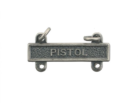Pistol Silver-Ox Army Qualification Bar | Sold Individually