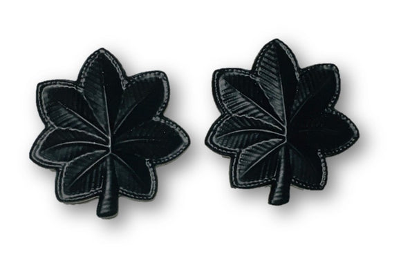 Lt. Colonel Black Star Badge / Pin | Sold in Sets of 2 as Pictured