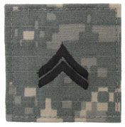 Corporal Army Rank Insignia ACU Hook & Loop