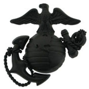 Officer Service Marine Corps Cap Device Black