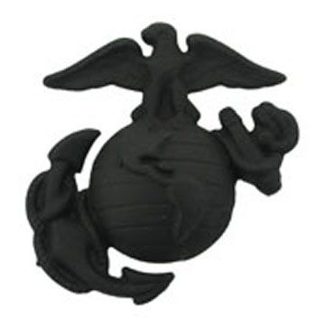 Enlisted Service Marine Corps Cap Device Black