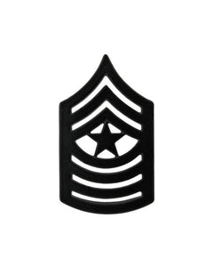 Sergeant Major Marine Corps Chevron Sta-Black