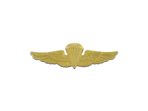 NAVY BADGE, PARACHUTIST , GOLD PLATED | Sold Individually