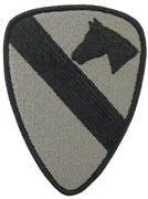 1st Cavalry Division ACU W/ Hook and Loop | Sold Individually