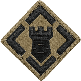 20th Engineer Brigade Army Patch