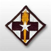32nd Medical Brigade Army Full Color Sew On Patch
