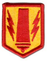41st Field Artillery Brigade Army Patch