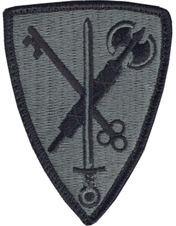 42nd Military Police Brigade ACU Patch W/ Hook and Loop