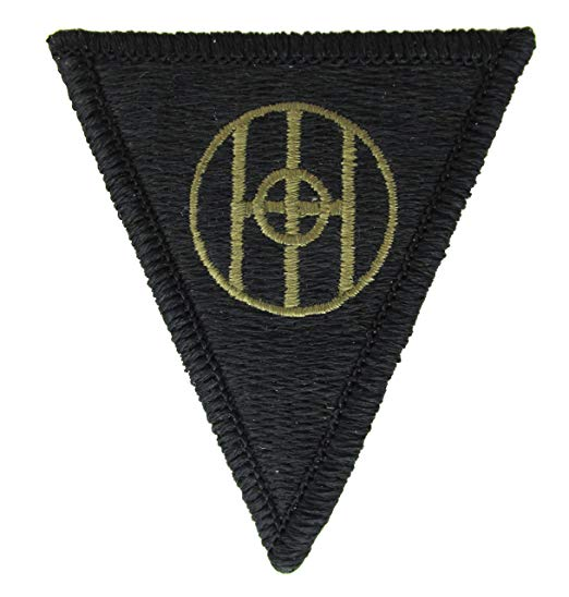 83rd Infantry Division Army Patch