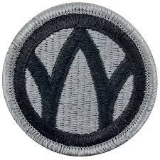 89th Regional Readiness Army Patch ACU W/ Hook and Loop