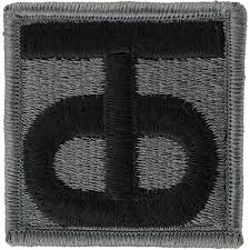90th Regional Readiness Command ACU Patch W/ Hook and Loop