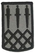 115th Field Artillery Brigade - Army Patch ACU With Hook & Loop - Price Per Set of 2