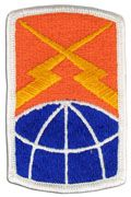 160th Signal Brigade Army Patch Regular | Full Color Sew On Military Uniform Patch|Sold Individually