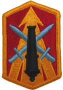 214TH FIRES BRIGADE FULL COLOR SEW ON ARMY PATCH