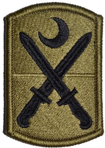 218th Infantry Brigade Army Patch - Bagby Green