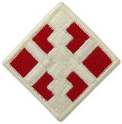 411TH ENGINEER BRIGADE FULL COLOR SEW ON ARMY PATCH