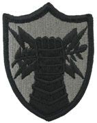 Army Element US Strategic Command Army Patch ACU With Hook and Loop Sold Individually