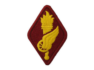 Transportation Training School Army Patch Regular | Full Color Red and Gold Sew On Patch | Sold Individually