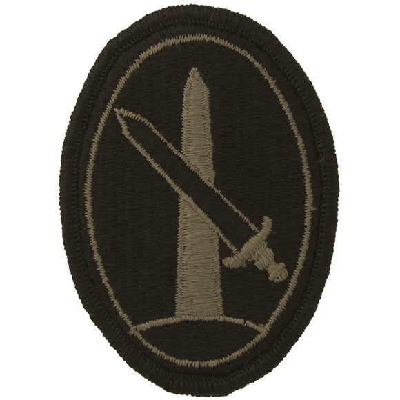 Military District of Washington Army Patch - Subdued