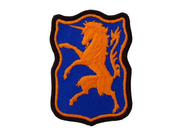 6th Army Cavalry Regular | Full Color Embroidered Sew On Patch | Sold individually