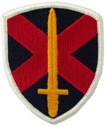 10th Personnel Command Army Patch Regular | Full Color Embroidered Sew On Patch | Sold individually