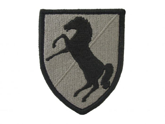 11th Armored Cavalry ACU | Embroidered Patch with Hook and Loop | Sold Individually