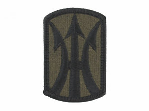 11th Infantry Brigade Army Patch Subdued|Embroidered Patch | Sold individually