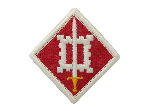 18th Engineer Brigade Army Patch Regular | Full Color Embroidered Sew On Patch | Sold individually