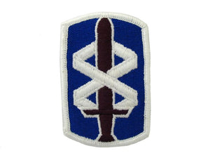 18th Medical Brigade Army Patch Regular | Full Color Embroidered Sew On Patch | Sold individually