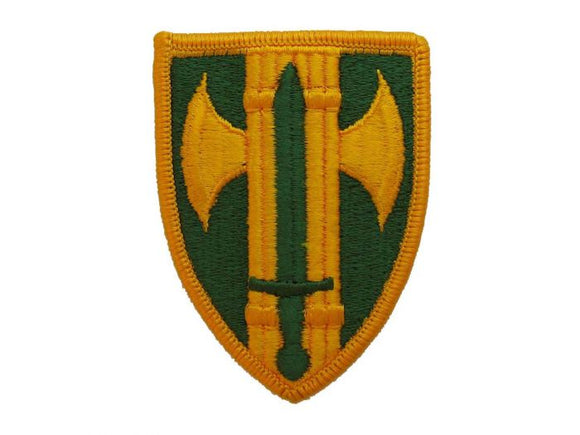 18th Military Police Brigade Army Patch Regular | Full Color Embroidered Patch
