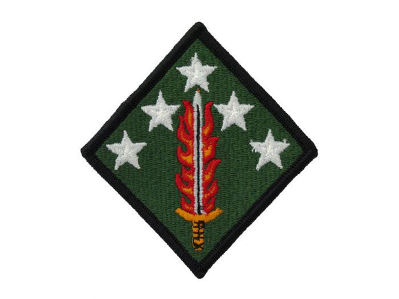 20th Support Command Army Patch Regular | Full Color Embroidered Sew On Patch | Sold individually