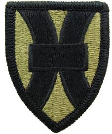 21st Support Command Army Patch - Subdued - Sew On Patch - Obsolete - Limited Quantities